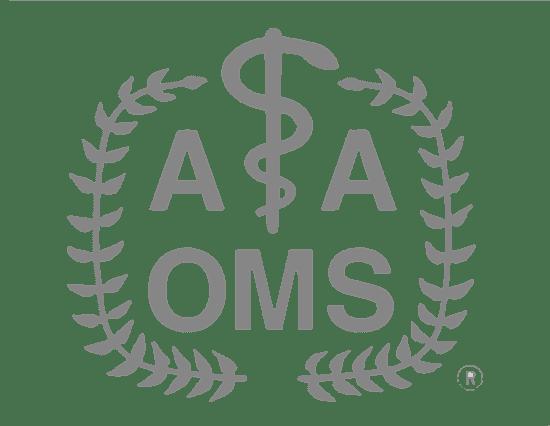 The American Association of Oral and Maxillofacial Surgeons logo_grey